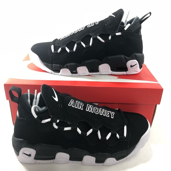 hot sale online 8f1e6 6cecc Nike Mens Air More Money Shoes Retro Uptempo